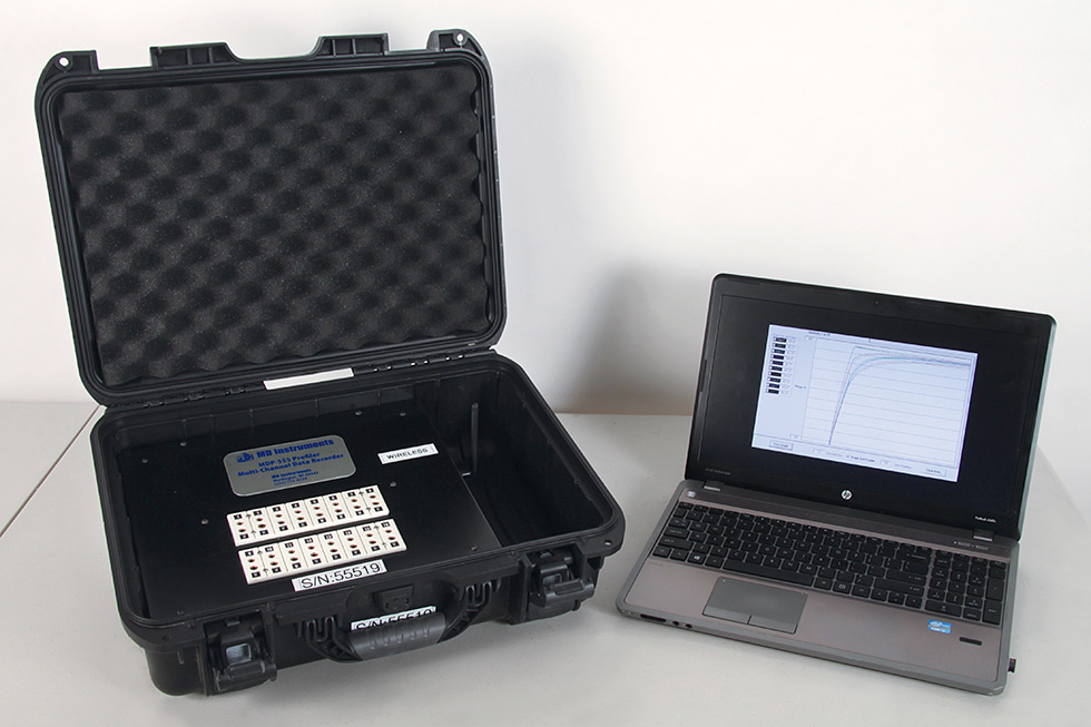 MDP 555 Profiler and Laptop